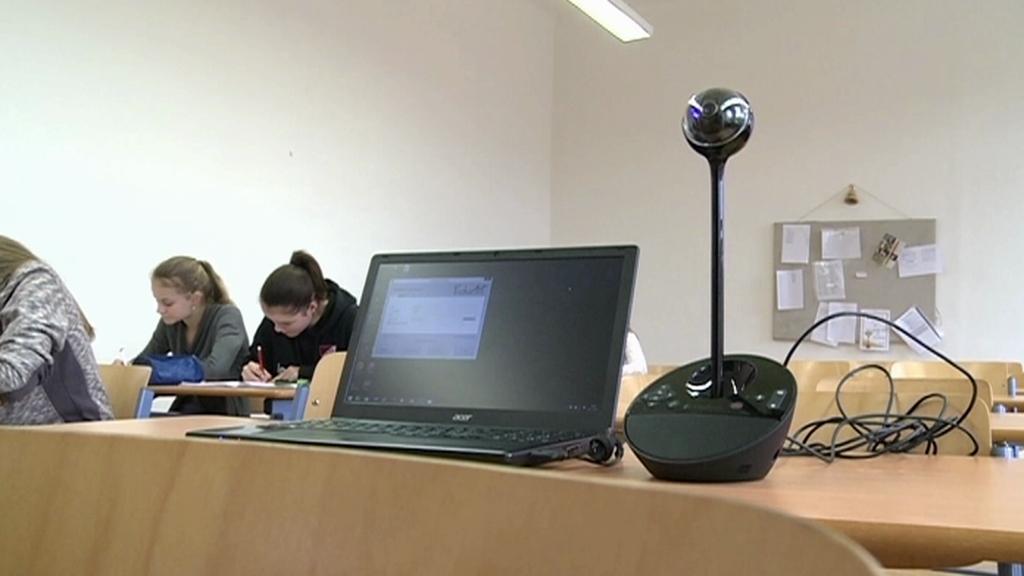 Webová kamera Slovanského gymnázia v Olomouci