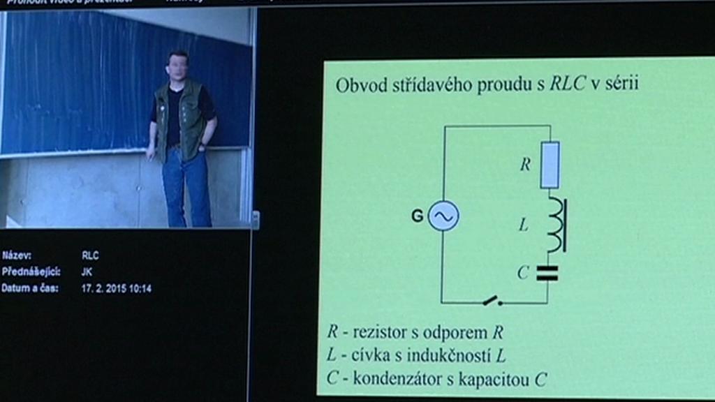 Záběry webové kamery Slovanského gymnázia v Olomouci