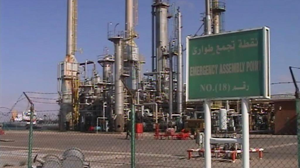 Ropné zařízení v Libyii