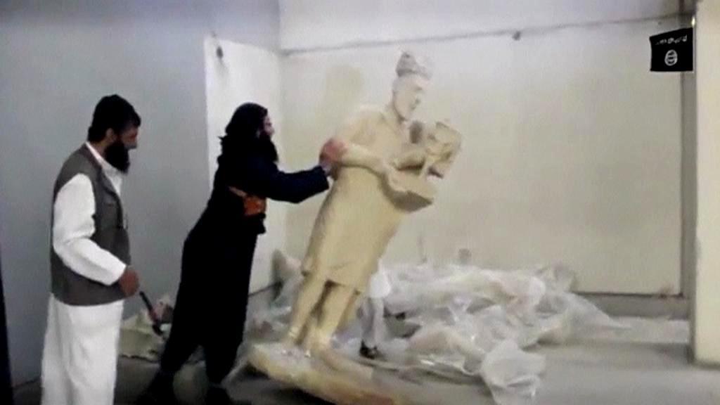 Islamisté ničí irácké památky