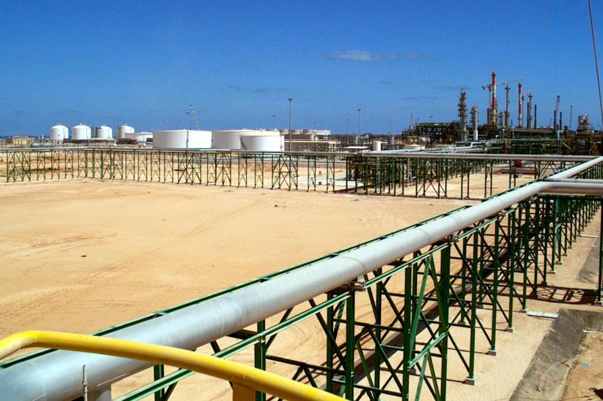 Libyjská ropná rafinerie