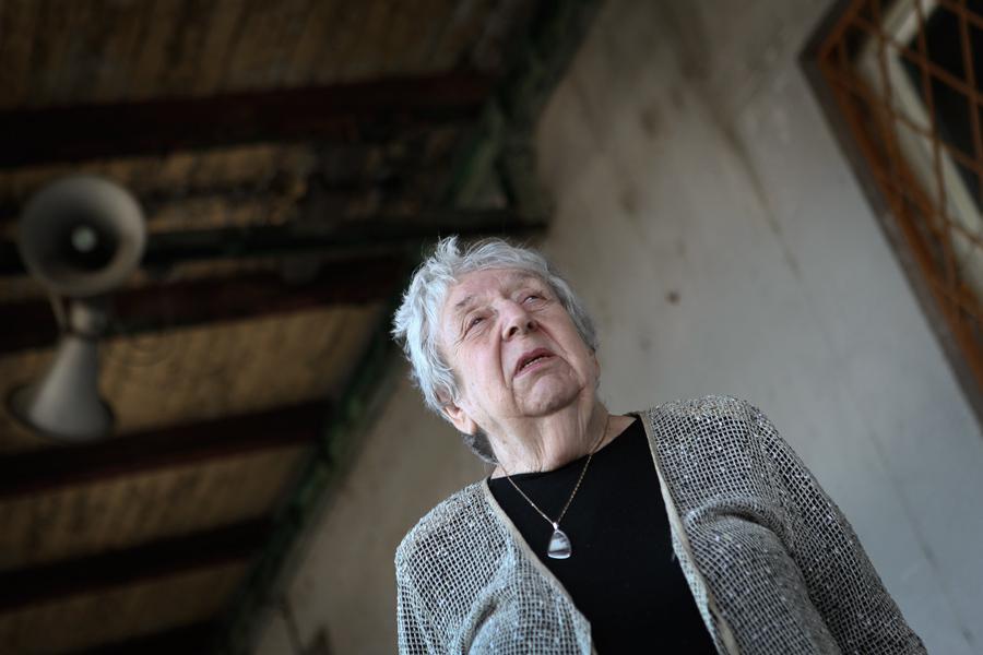 Pamětnice židovských transportů smrti Helga Hošková
