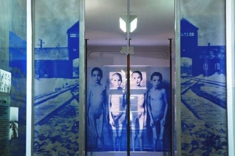 Expozice nacistické genocidy Sintů a Romů v Osvětimi