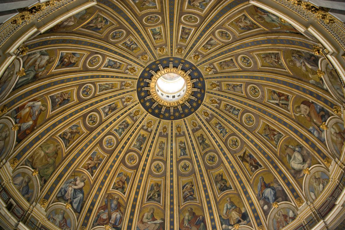 Kupole vatikánské baziliky