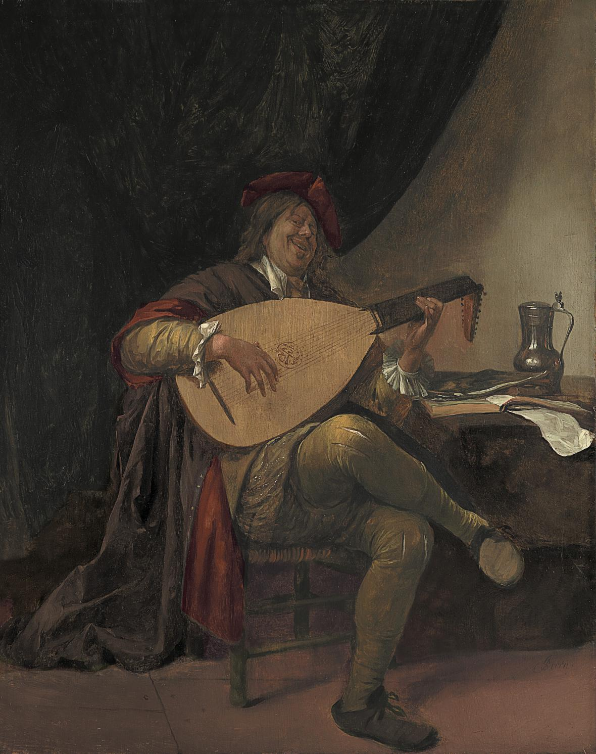 Autoportrét Jana Havicksz. Steena (1663-65)