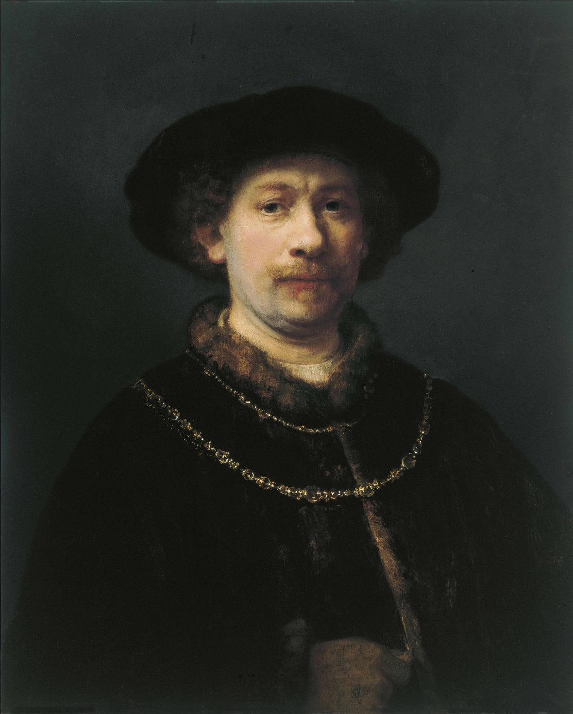 Autoportrét Rembrandta (1642-43)