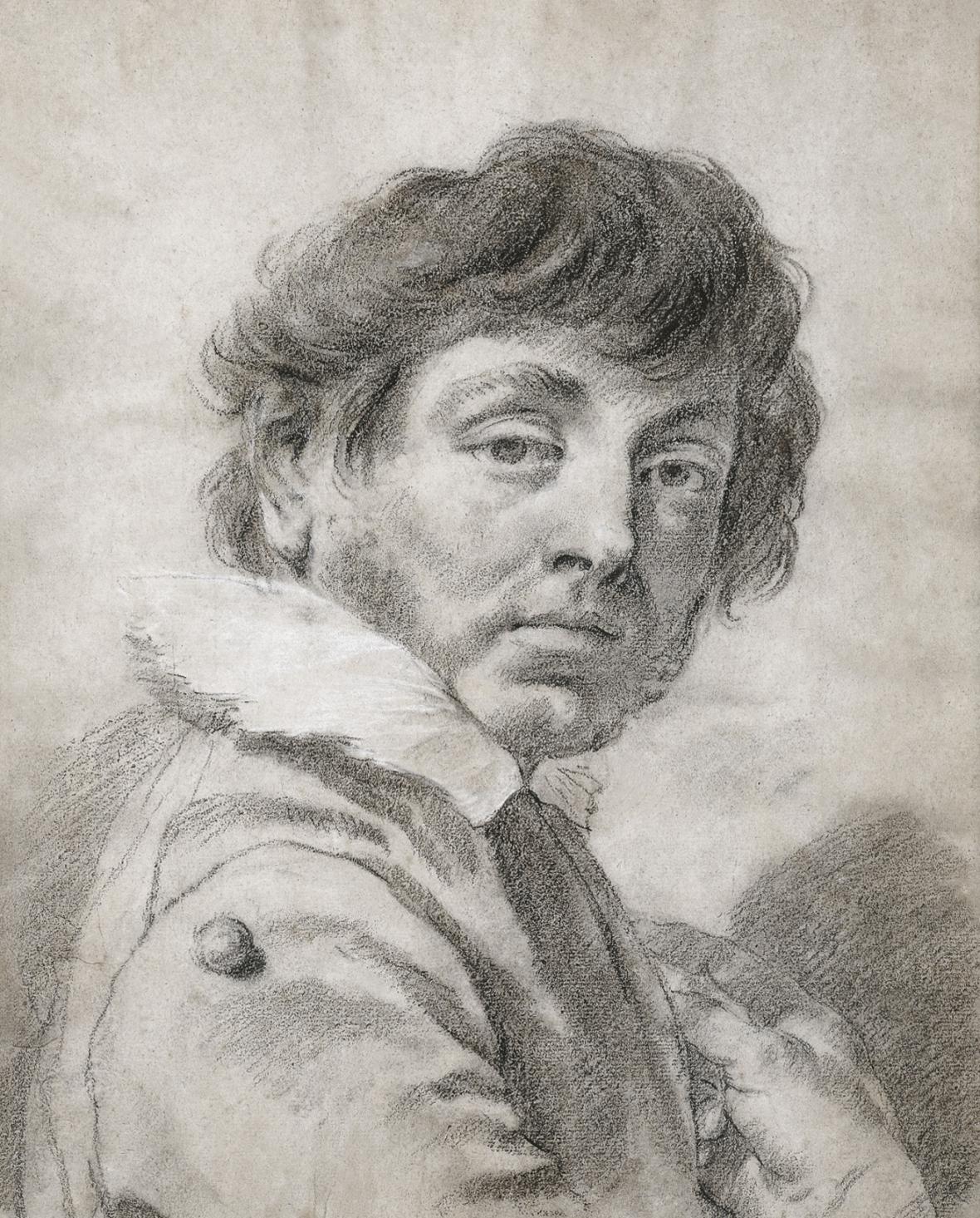 Autoportrét Giambattisty Piazzetty (1730)