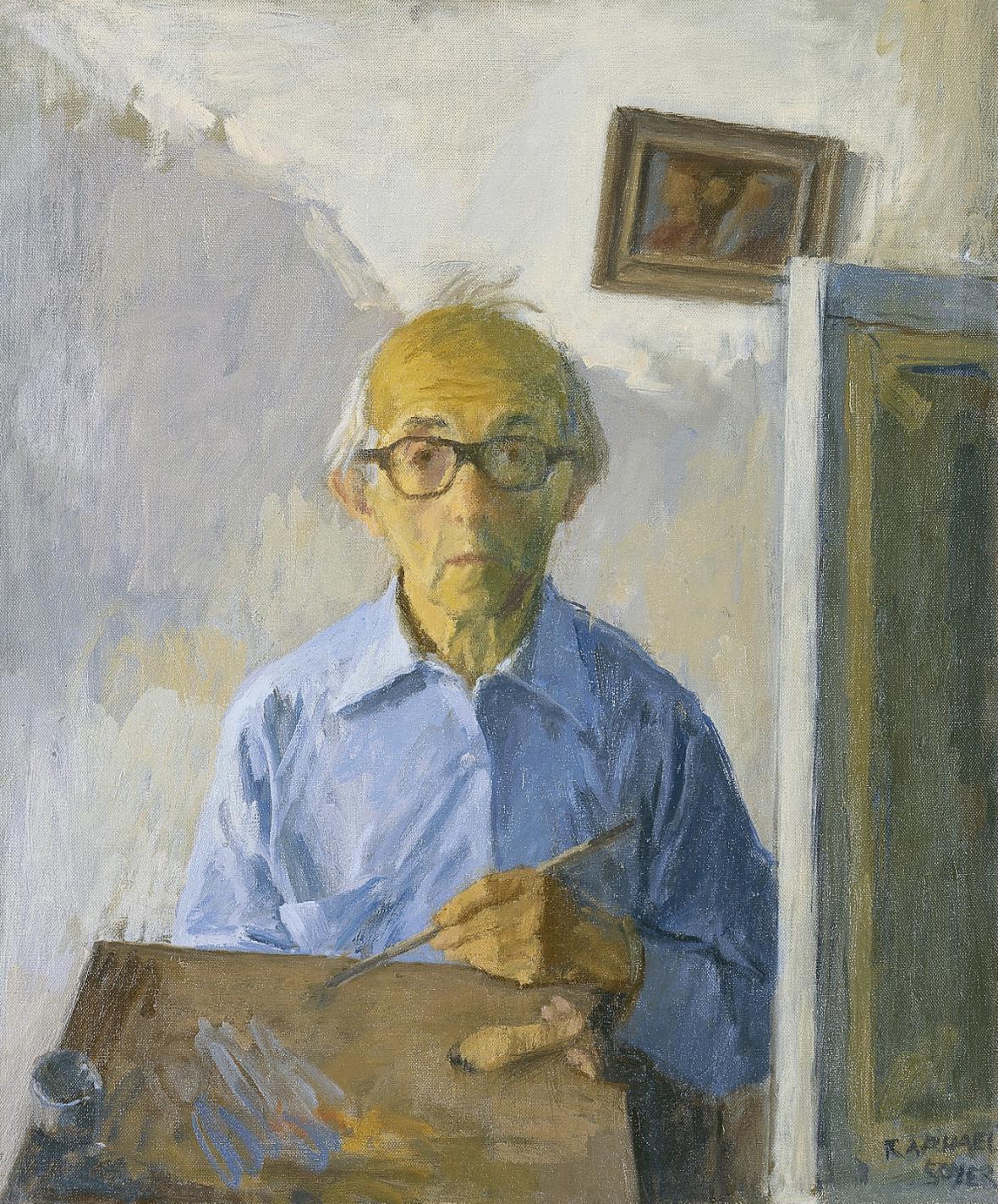 Autoportrét Raphaela Soeyra (1980)