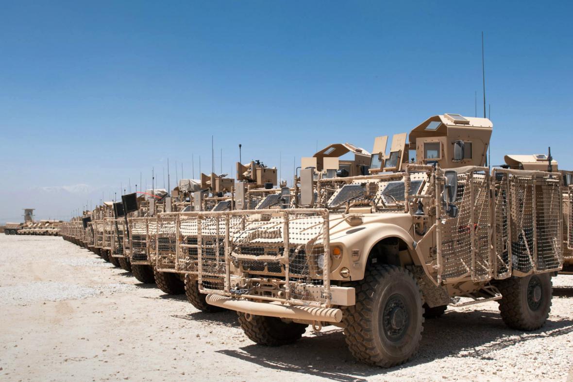 Vozidla Humvee
