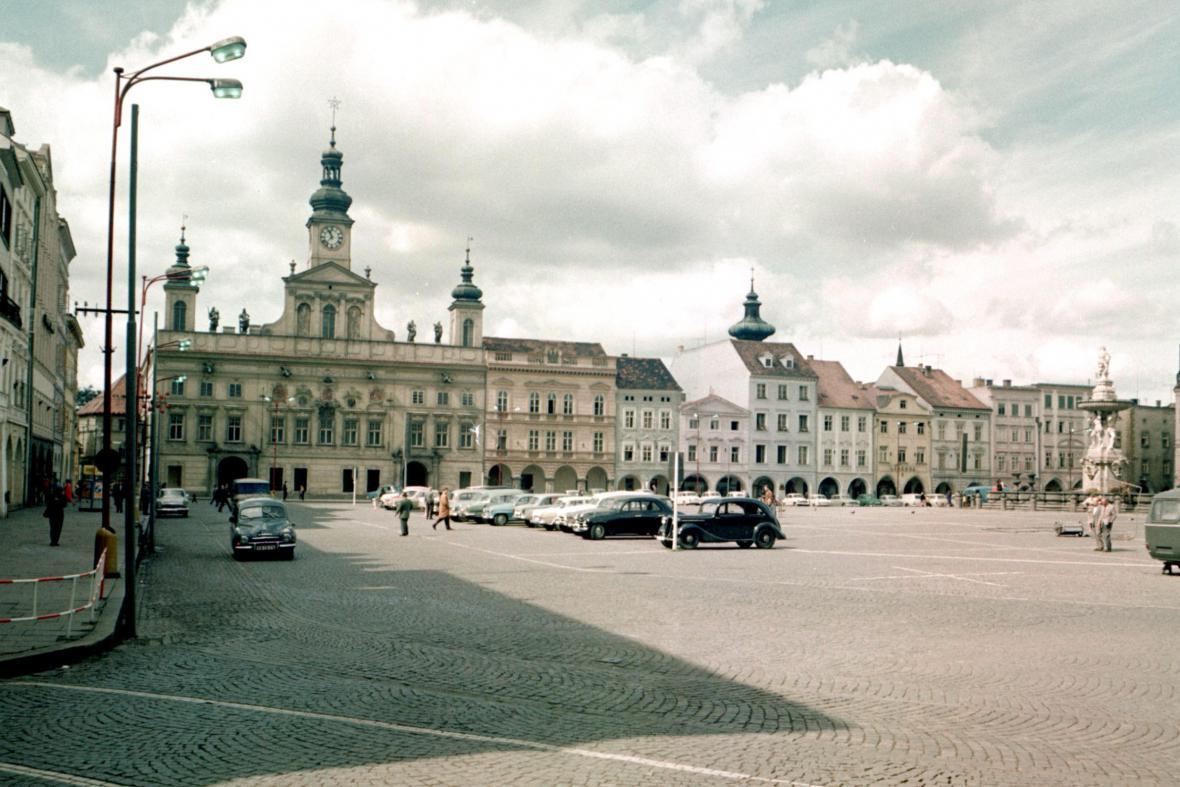 České Budějovice v 60. letech