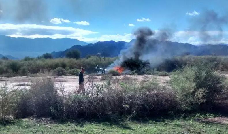 Nehoda dvou helikoptér v Argentině