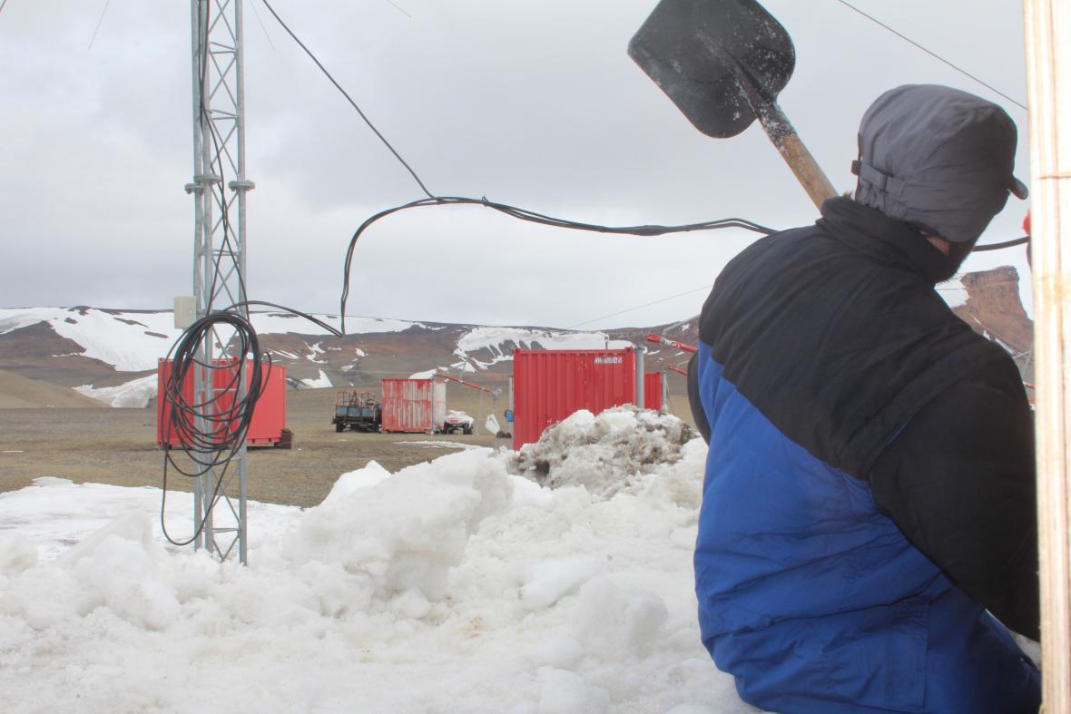 Čeští vědci v Antarktidě (2014-2015)