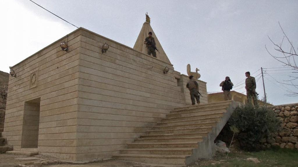 Jezídi chrání irácké památky