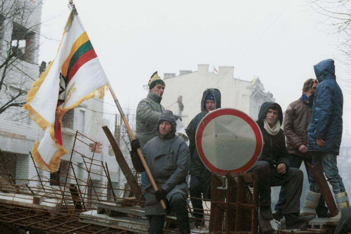 Protesty v Litvě v roce 1991