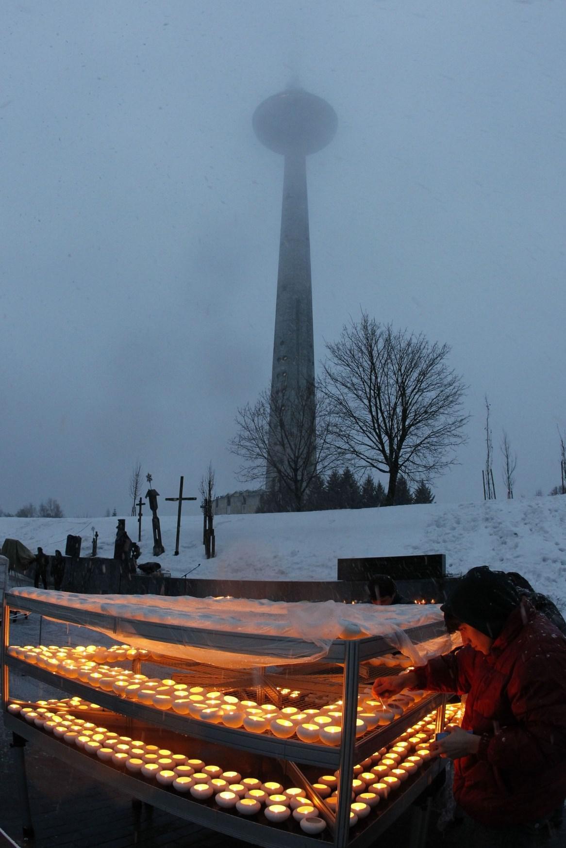 Televizní věž ve Vilniusu