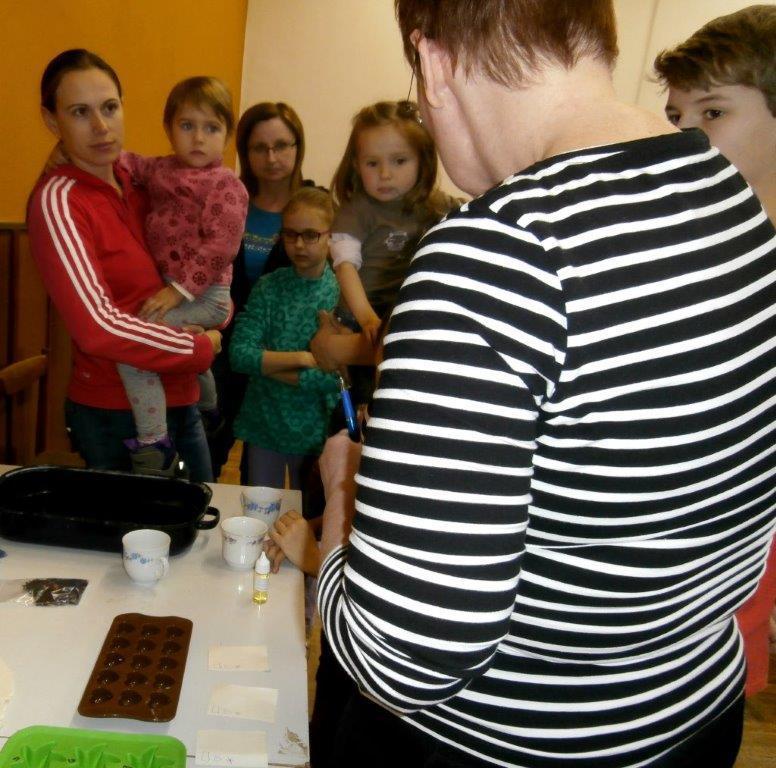 Výroba mýdla v Košticích