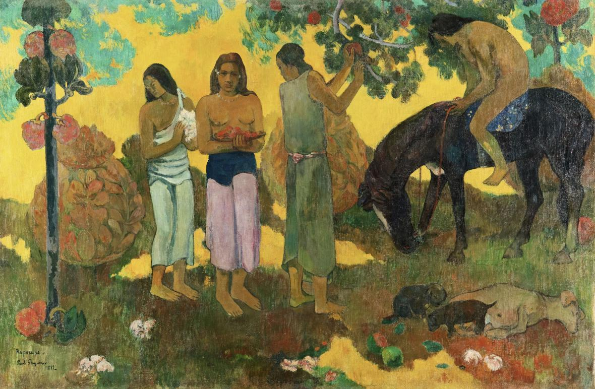 Paul Gauguin / Rupe rupe, 1899