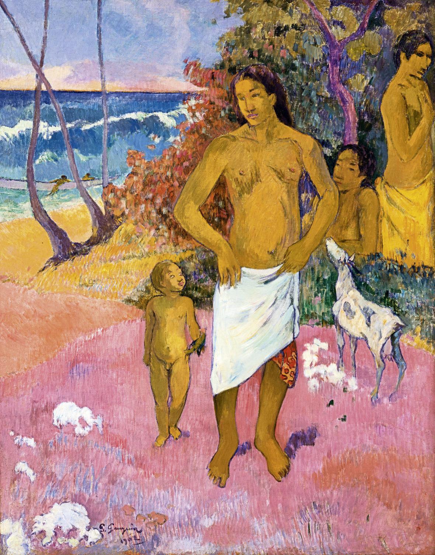 Paul Gauguin / Koupající se, 1902
