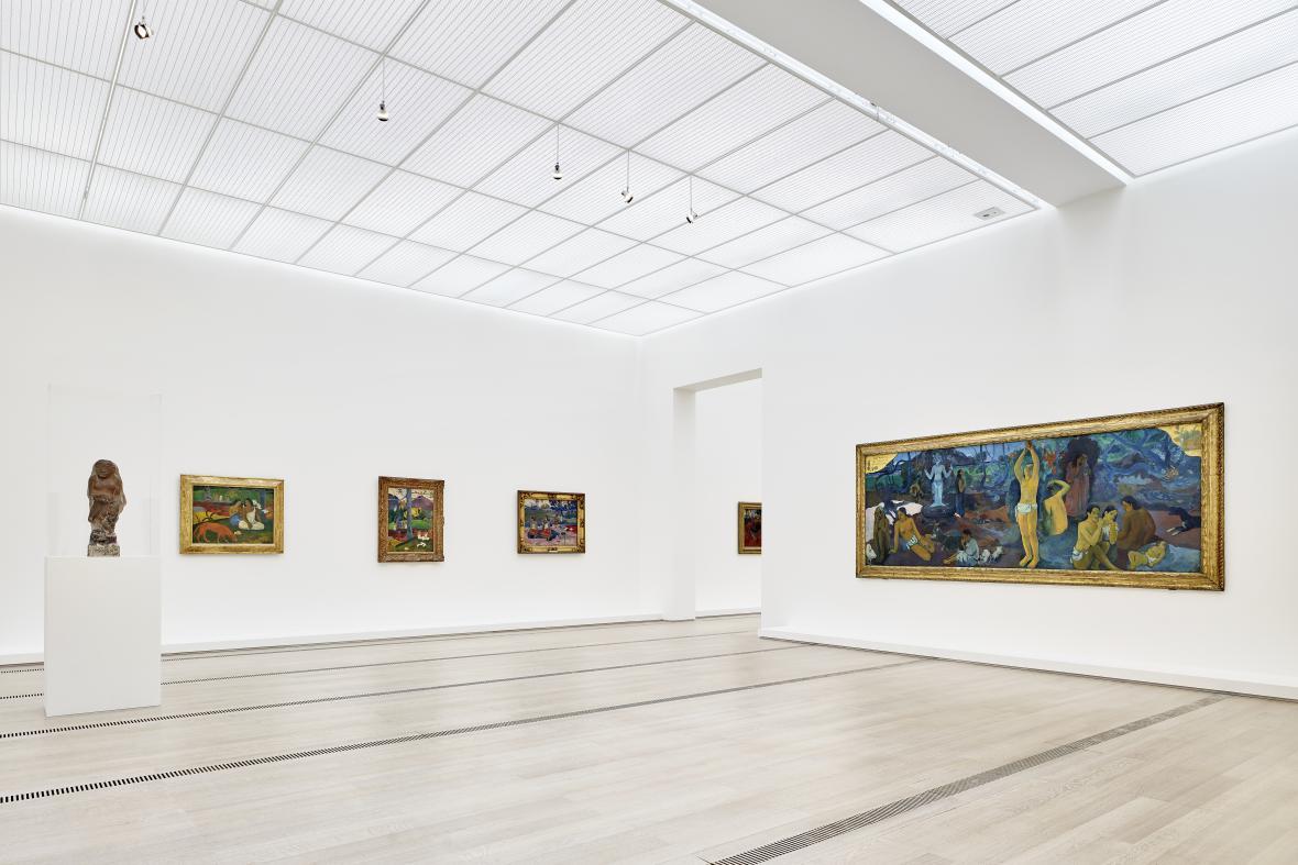 Výstava Paula Gauguina v Basileji