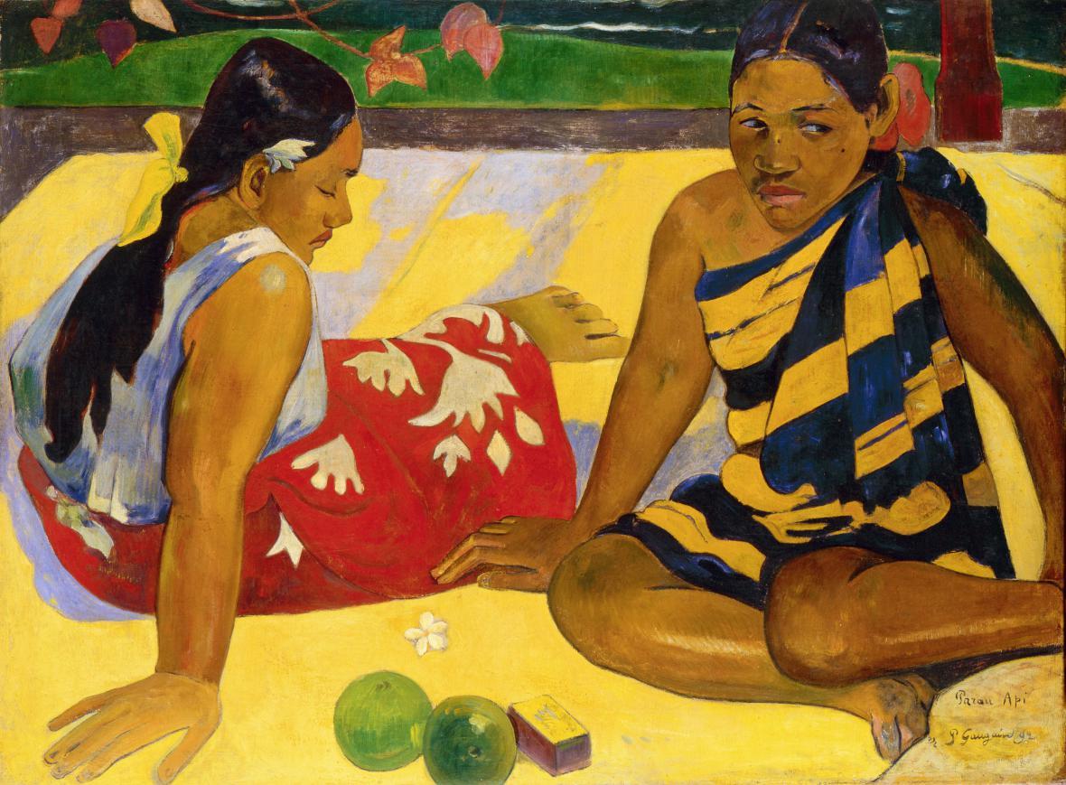 Paul Gauguin / Parau api, 1892
