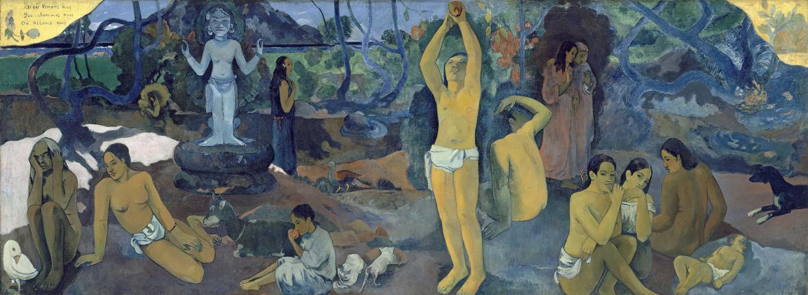 Paul Gauguin / Odkud přicházíme, kdo jsme, kam jdeme, 1897-98