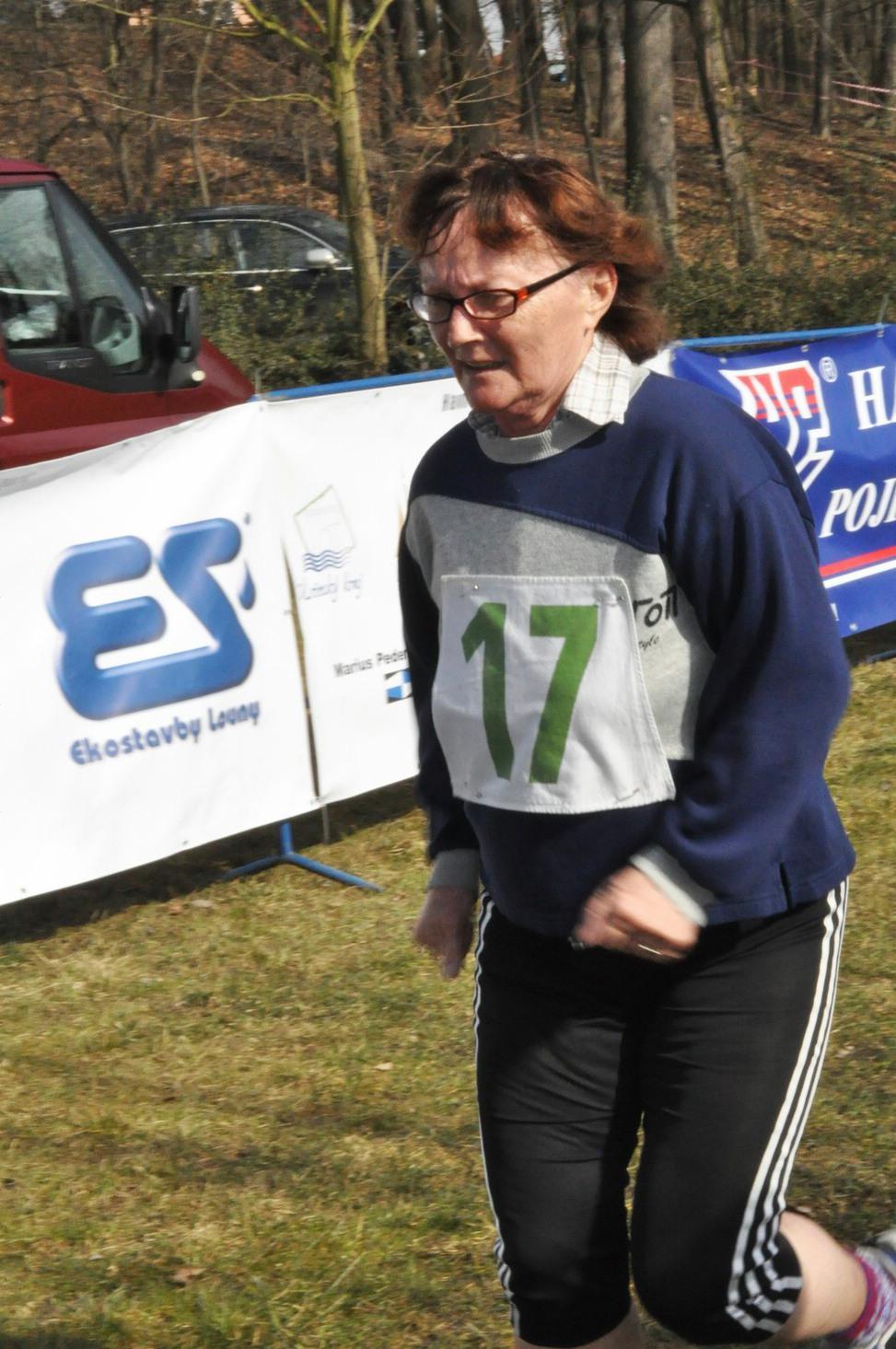 Jarní běh - Marie Polívková