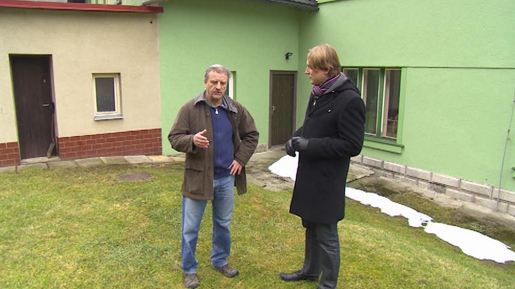 Pokud bychom měli vodu, mohla by tu začít fungovat restaurace, říká Zdeněk Petr