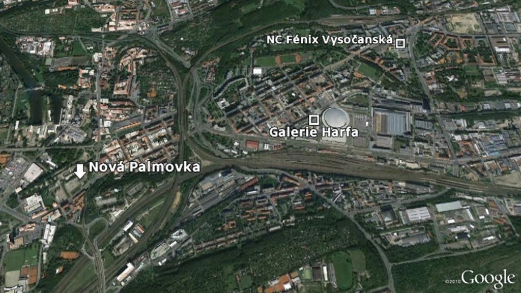 Na Praze 8 budou tři obchodní centra