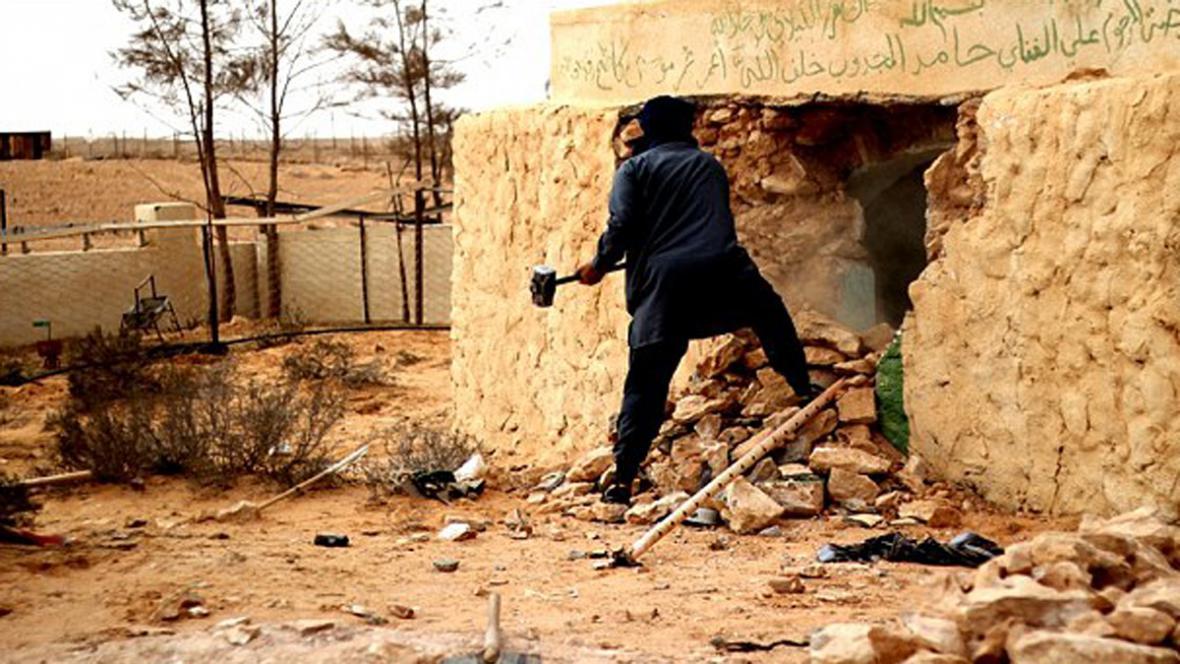 Islamisté ničí památky v Libyi