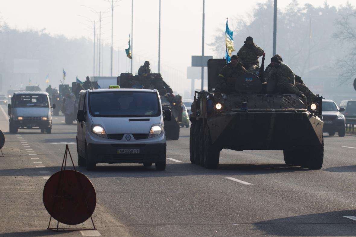 Ukrajinci se vrací do Kyjeva