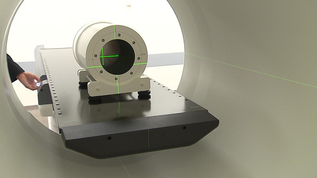 Detail nového přístroje VFN na léčbu rakoviny