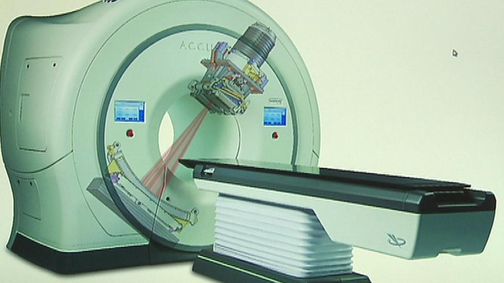 Obrázek nového přístroje VFN na léčbu rakoviny