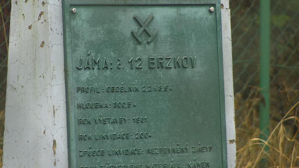 Bývalý uranový důl v Brzkově