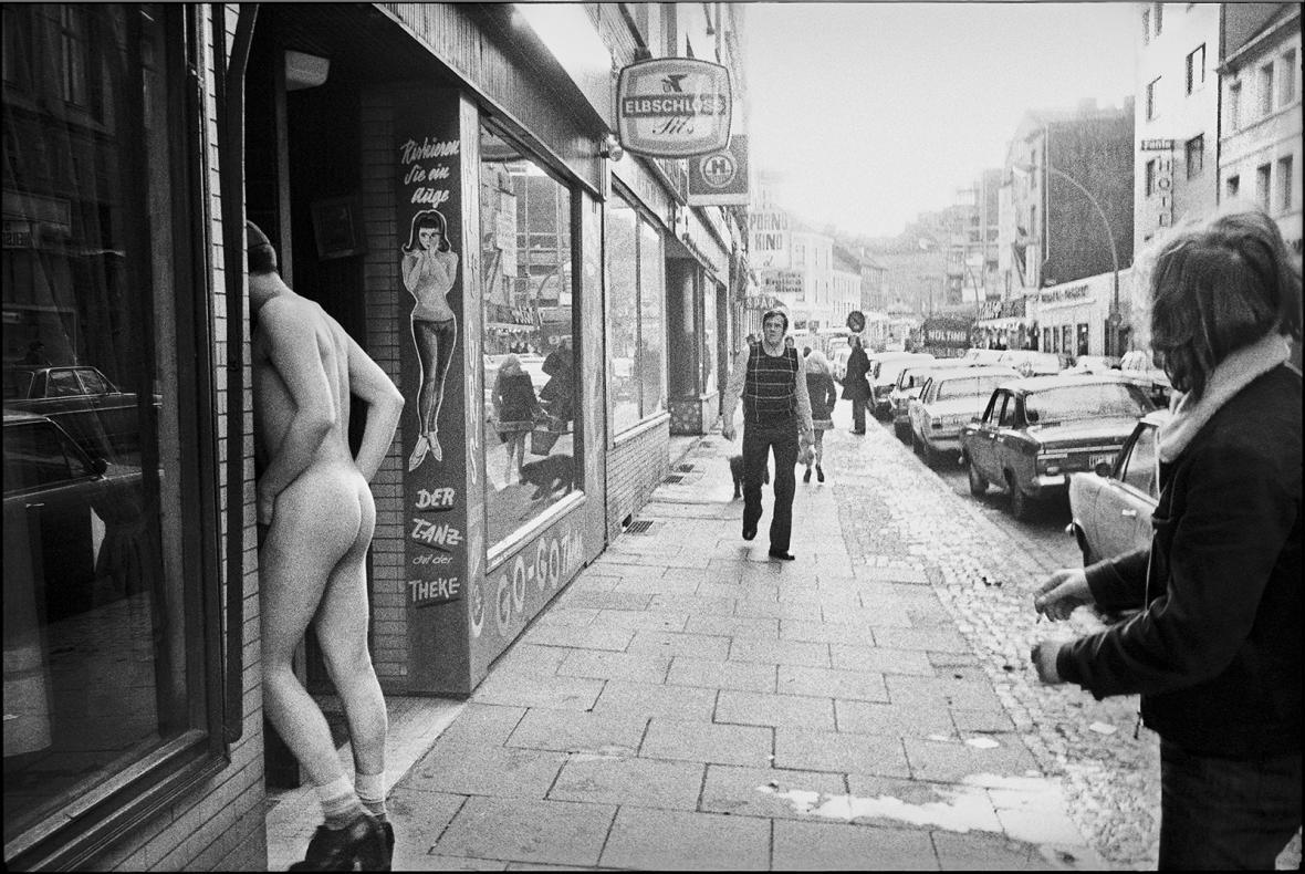 Z výstavy Andreje Reisera Utajený Hamburk