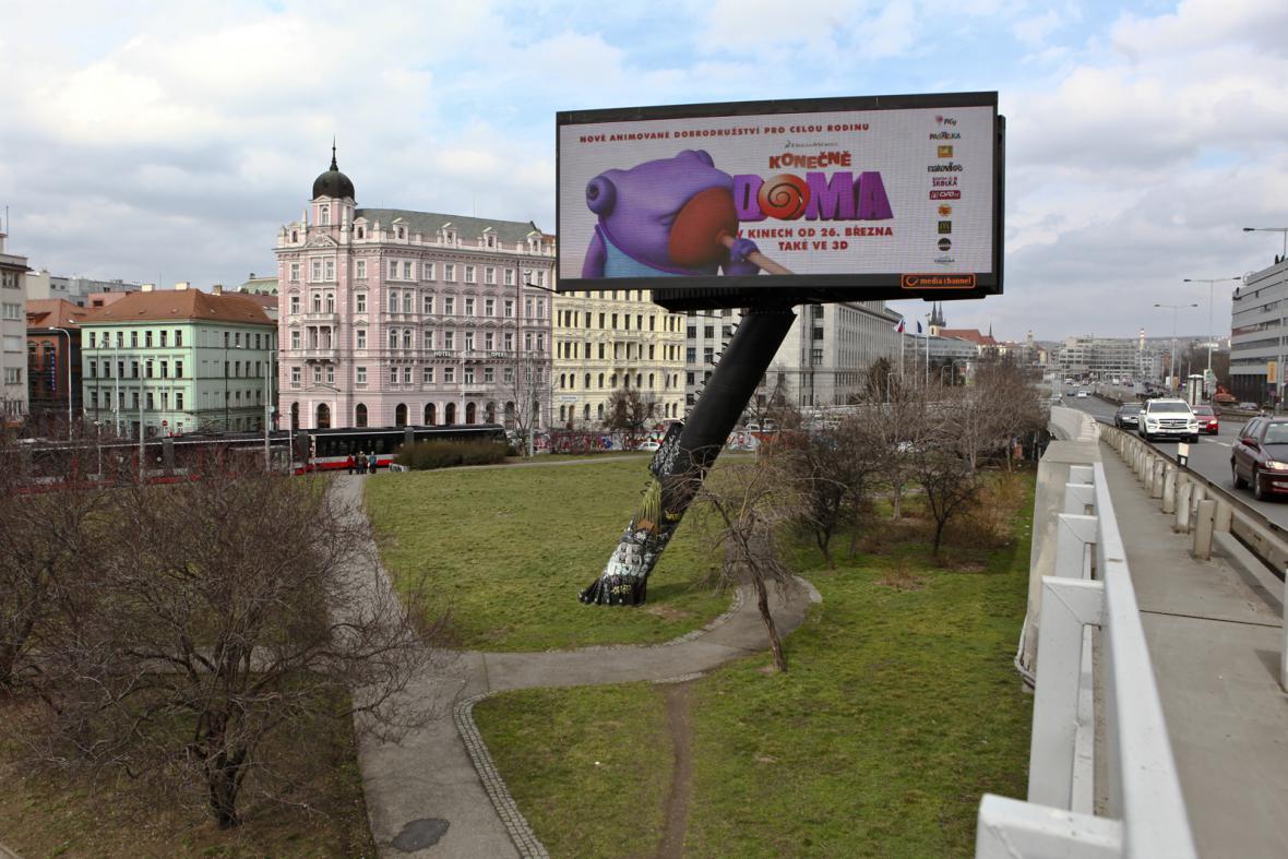 Místo po zaniklém nádraží Těšnov