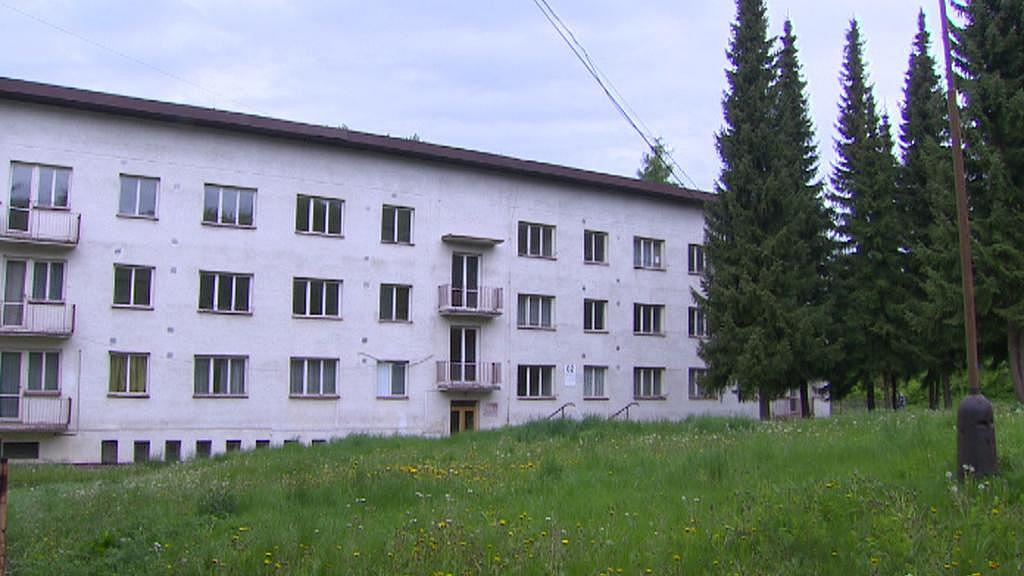 Ubytovna v Červeném Újezdu - záběr z roku 2014