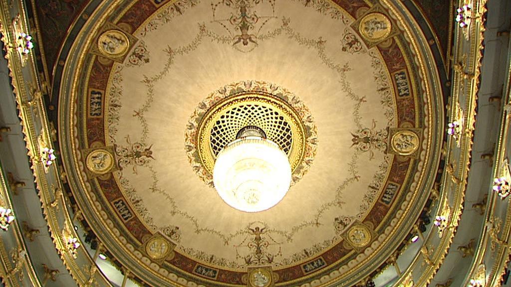 Strop Stavovského divadla