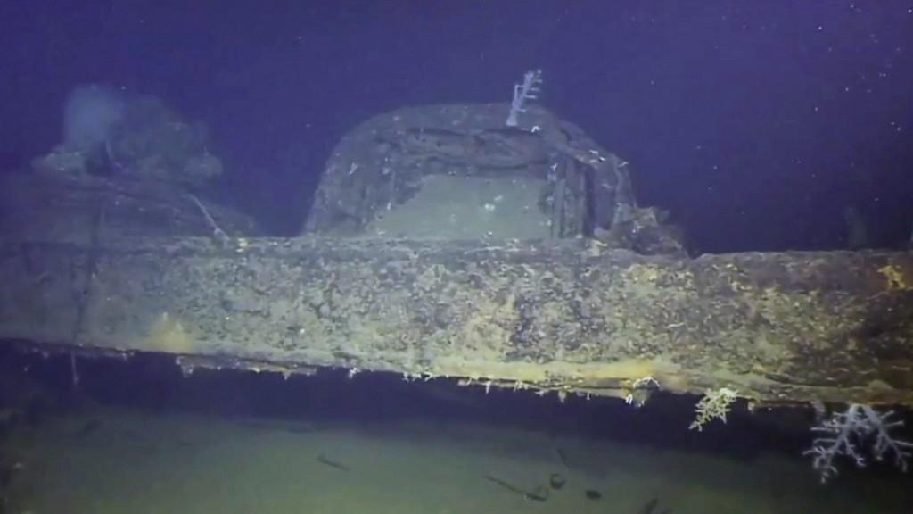 Objevená válečná loď Musaši
