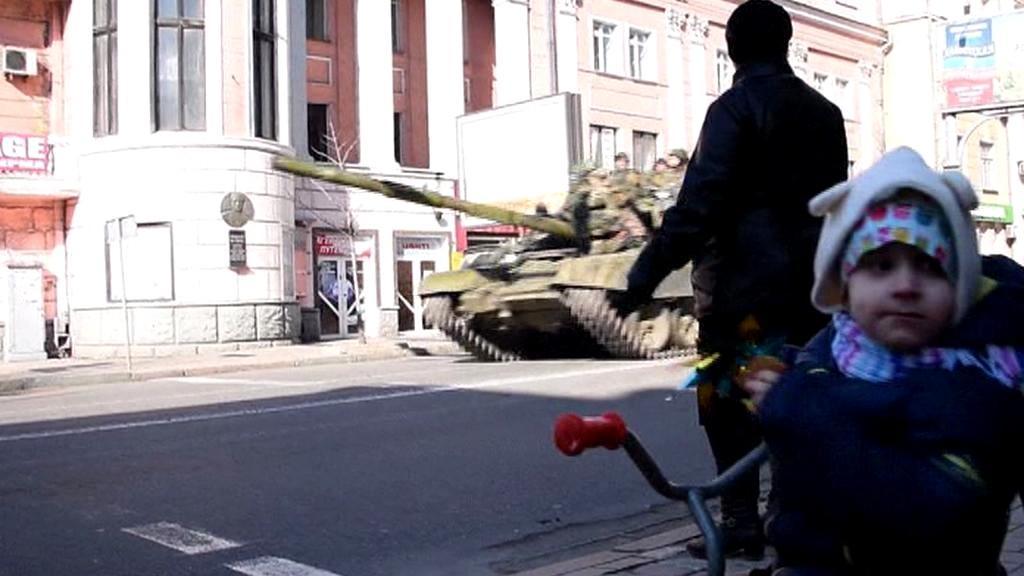 Ukrajinské děti války