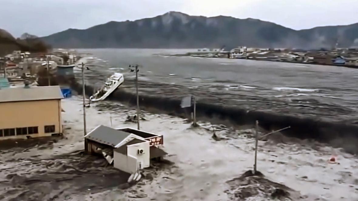 Ochranný val tsunami v roce 2011 nezastavil