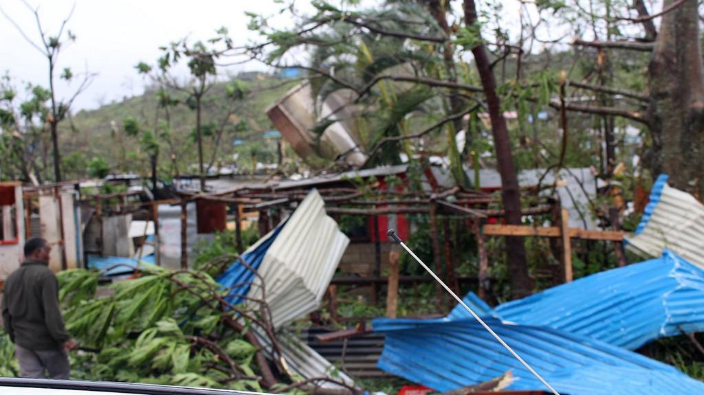 Souostroví Vanuatu po bouři