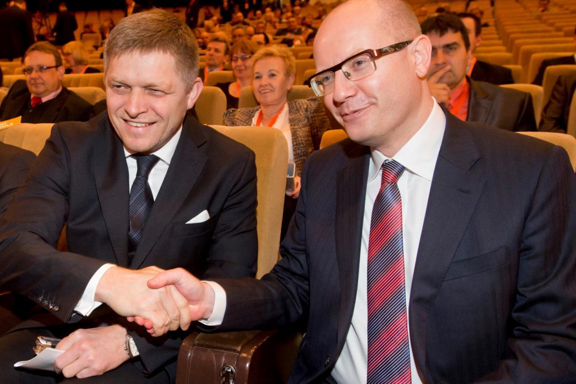 Robert Fico a Bohuslav Sobotka