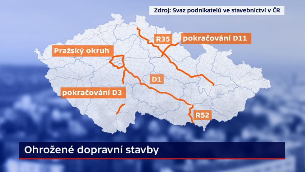 Ohrožené dopravní stavby po novele k EIA