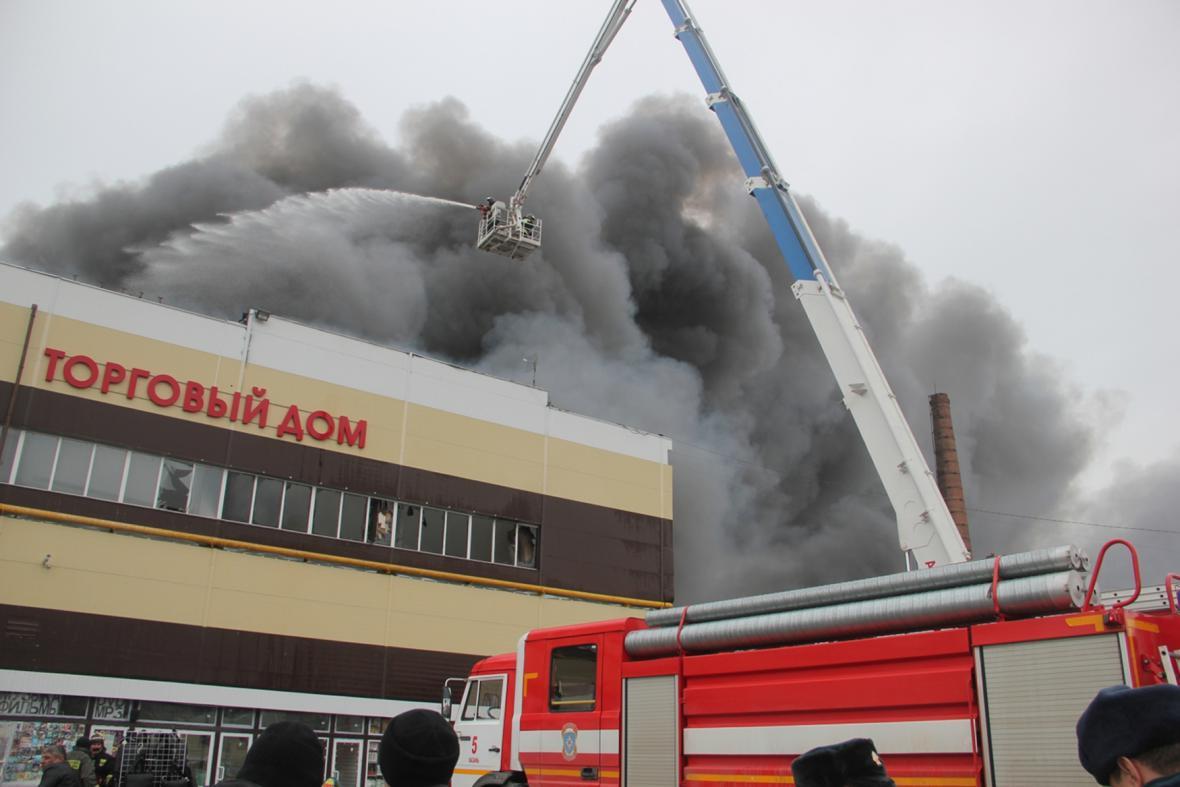 Požár v Kazani