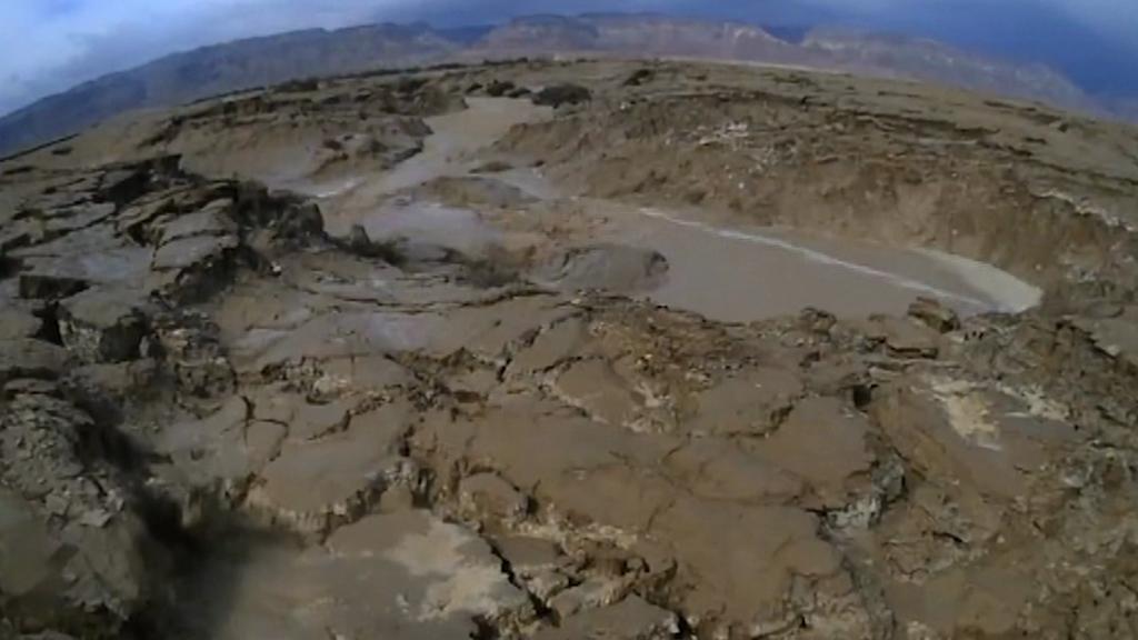 Změny hladiny vody v Mrtvém moři