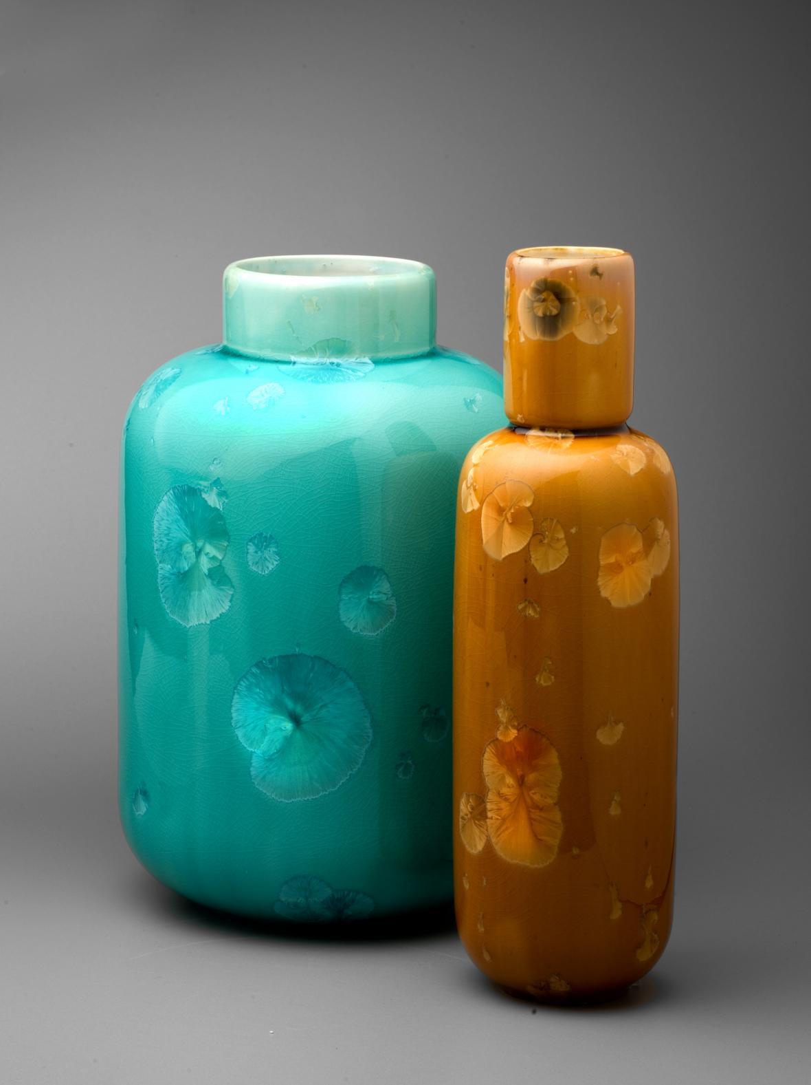 Milan Pekař / Krystalické vázy