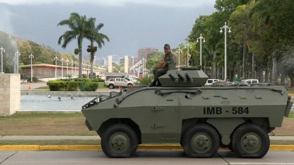 Vojenské manévry ve Venezuele