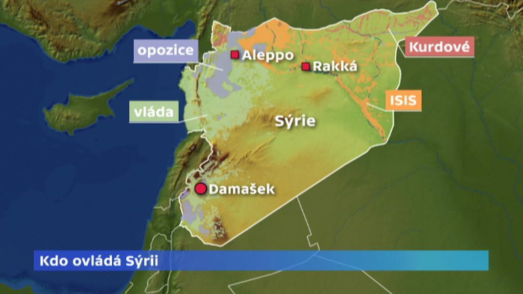 Kdo ovládá Sýrii