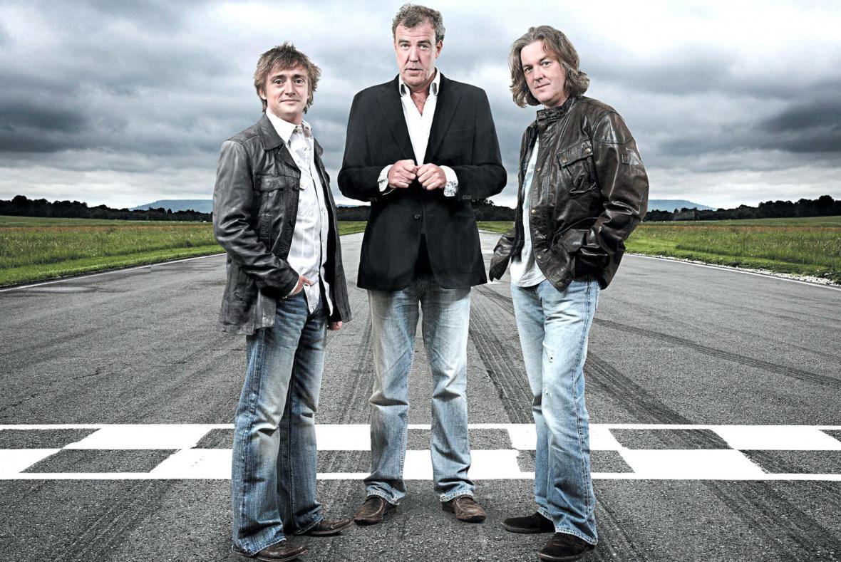 Jeremy Clarkson (uprostřed)