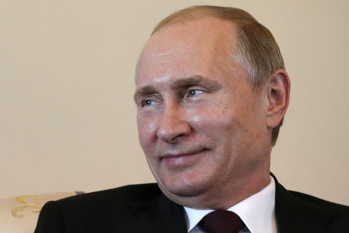 Vladimir Putin se od 5. března poprvé objevil na veřejnosti